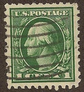 462 Used Superb, 1c. Washington