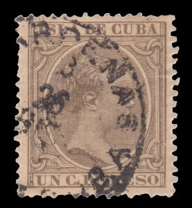 SPAIN & COLONIES - COLONIAL PERIOD - 1890. RARE FIND. SC # 132. # 2