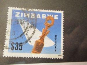 Zimbabwe #907 used  2019 SCV = $1.25