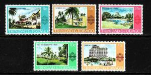 Trinidad & Tobago-Sc#279-83-unused NH set-Hotels-Tourism-1978-