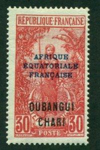 Ubangi-Shari 1924 #51 MH SCV (2018) = $0.70