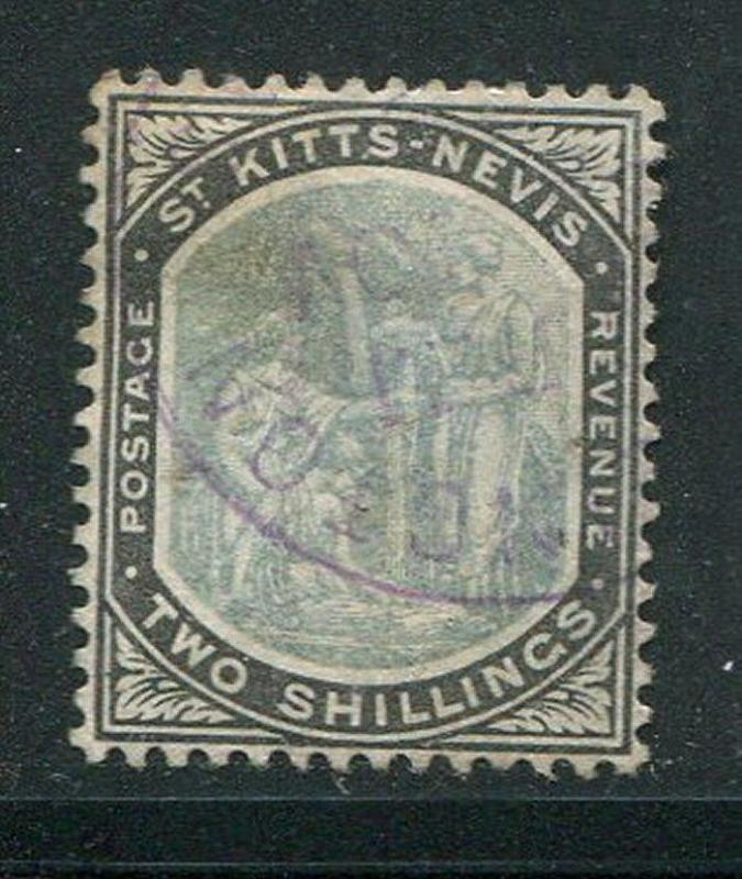 St Kitts Nevis #9 Used