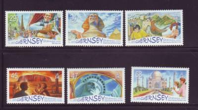 Guernsey Sc 893-8 2006 Europa Tourist Attraction  stamp set mint NH