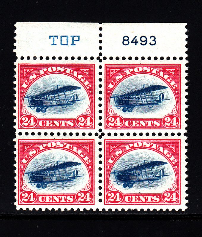 #C3 block of 4, F-VF NH! Free certified shipping.