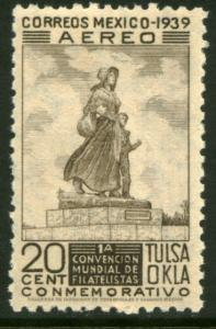 MEXICO C94, 20c Tulsa World Philatelic Convention. MINT, NH F-VF.