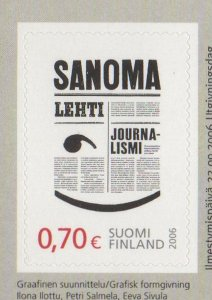 Finland Sc 1269 2006 Newspaper Journalism stamp mint NH