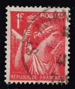 France #378 Iris; Used (0.35)