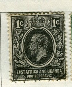 BRITISH KUT; 1921 early GV issue fine used 1c. value