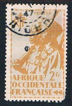 French West Africa 27 Used Colonial Soldier (BP1024)