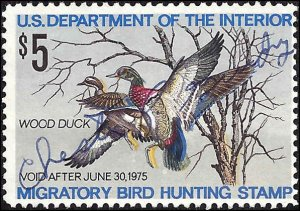 RW41 Used... Federal Duck Stamp... SCV $5.00
