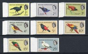 British Honduras 1962 QEII Birds p/set (8v.) wmk w12 upright MNH