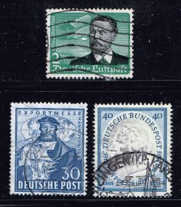 GERMANY STAMP COLLECTION LOT