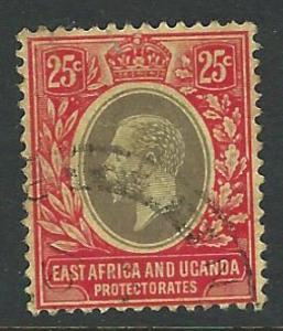 East Africa Uganda Protectorates used SC 46