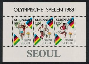 Suriname Olympic Games Seoul MS SG#MS1378