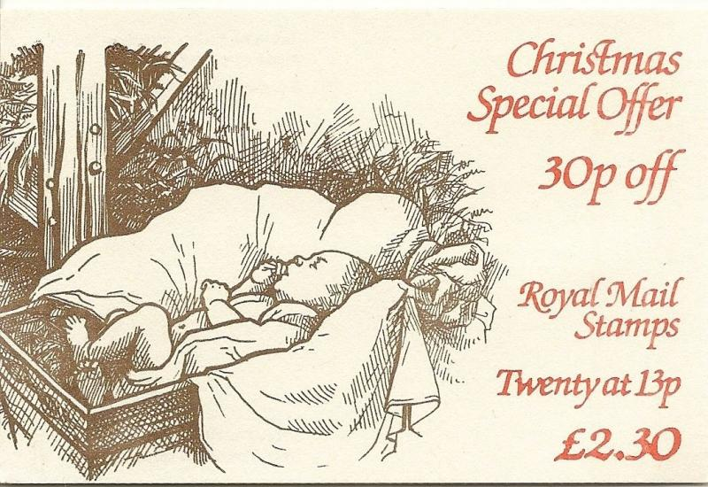 GB 1984 Christmas FX7 Folded Booklets c£10