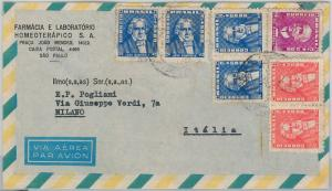 58547  -  BRAZIL  - POSTAL HISTORY:  AIRMAIL COVER to ITALY
