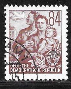 Germany DDR 171: 84pf German Family, CTO, VF