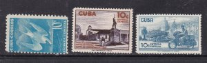 CARABBEAN ( Havana)^^^^^^BOB   sc#E18,E23,E24    MNH/LH  EXPRESS@dc236cuu