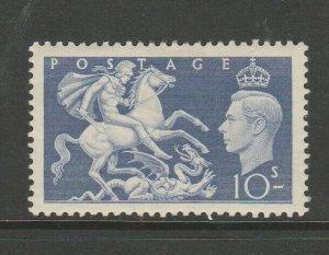 GB GV1 1951 Festival 10/- MM SG 511