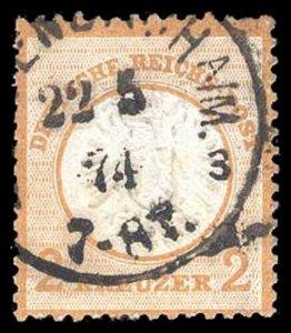 GERMANY 22  Used (ID # 90826)