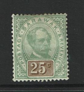 Sarawak SG# 18, Mint Hinged, Hinge Remnant, two minor corner creases - S978