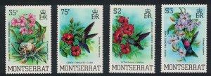 Montserrat Hummingbirds Birds 4v 1983 MNH SG#571-574