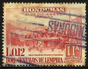 Honduras Air Mail 1959 Scott# C306 Used (toning)