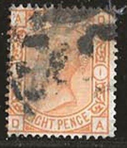 Great Britain 73 [pl1] [u] CV $350.00