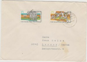 DDR59) East Germany 1969 Gymnastics And Sports Festival