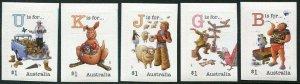 HERRICKSTAMP NEW ISSUES AUSTRALIA Sc.# 4702-06 Fair Dinkum Alphabet Part III S/A
