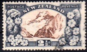 New Zealand Scott 184 Used.