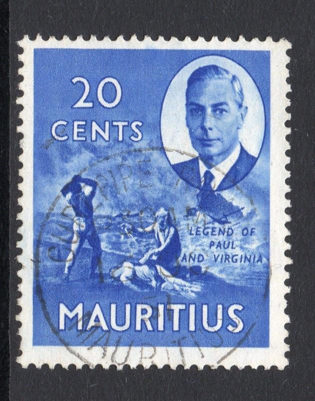 MAURITIUS = POSTMARK - `CUREPIPE ROAD` VERY FINE USED