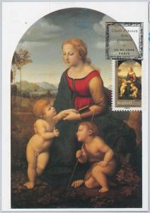 54226  - FRANCE -  POSTAL HISTORY: MAXIMUM CARD - 2008 RELIGION Art