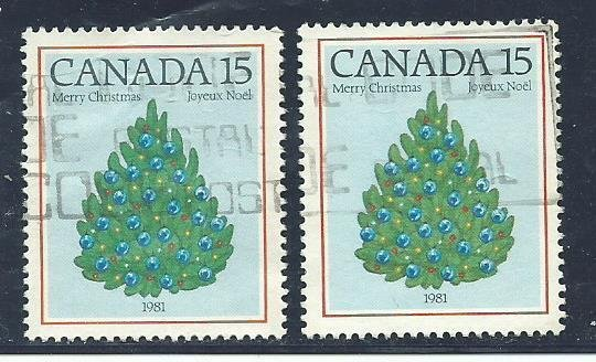 Can #902  (2)  used VF 1981 PD
