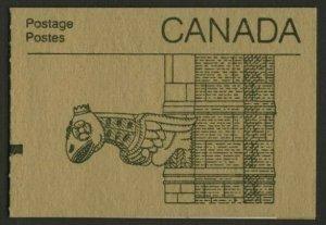 Canada 948ai Counter Booklet BK92b Garygole Cover MNH Parliament