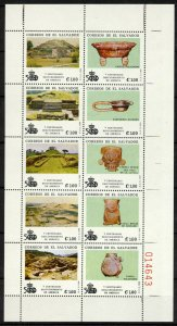 Salvador 1190 MNH Discovery of America, Ruins & Artifacts