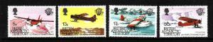 British Antarctic Territory-Sc#117-20- id2-unused NH set-Planes-Manned Flight-19