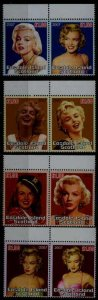 Easdale Scotland 8 MNH values Cinema,cinderellas