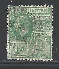 British Guiana Sc # 191 used wm 4 (RS)