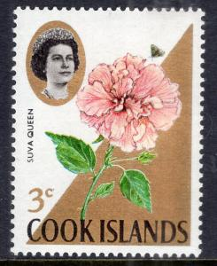 Cook Islands 203 Flowers MNH VF