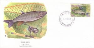 Malawi FDC SC# 543 Lake Salmon L225