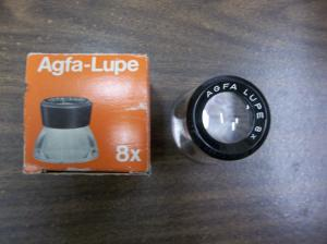 AGFA LUPE 8X TYPE 6610 MAGNIFIER