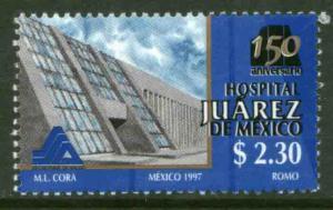 MEXICO 2044, Hospital Juarez 150th Anniversary. MINT, NH. VF.