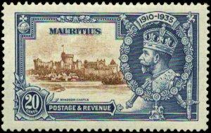 Mauritius Scott #206 Mint