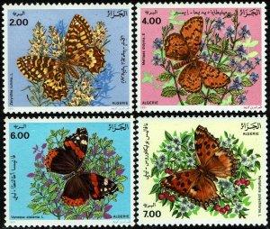 Algeria #945-48  MNH - Butterflies (1991)
