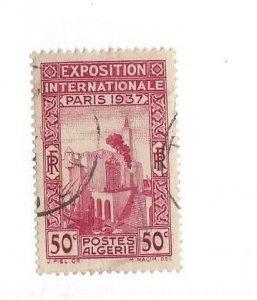 ALGERIA, 110, Algerian Pavilion Single, Used