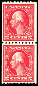 U.S. #442 MINT PAIR OG NH