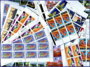 Postage 652 32¢ Stamps All Mint Full Gum Never Hinged Face $208.64