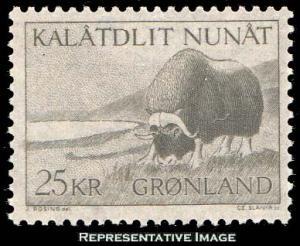 Greenland Scott 75 Mint never hinged.