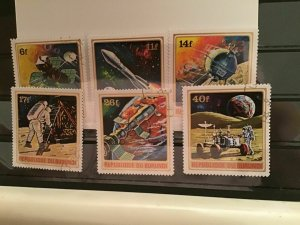 Republic of Burundi Apollo space  cancelled  stamps R21809